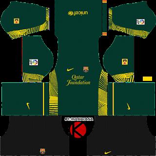 Barcelona Kits 2011/2012 - Dream League Soccer Kits