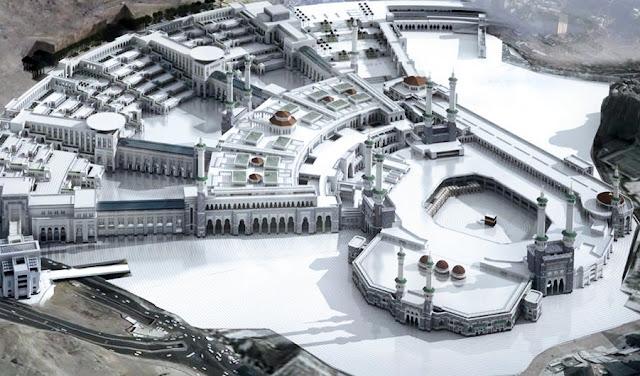 Subhanallah, Inilah Bentuk Masjidil Haram Di Tahun 2020