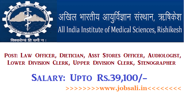 AIIMS Vacancy, AIIMS Jobs, AIIMS Online application