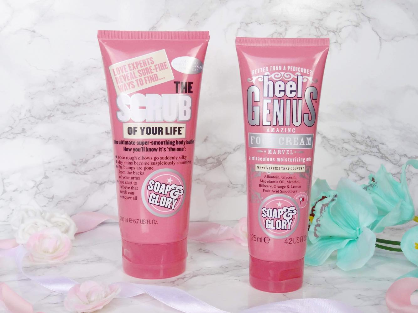 Soap and Glory Heels Genius and Scrub Of Your Life