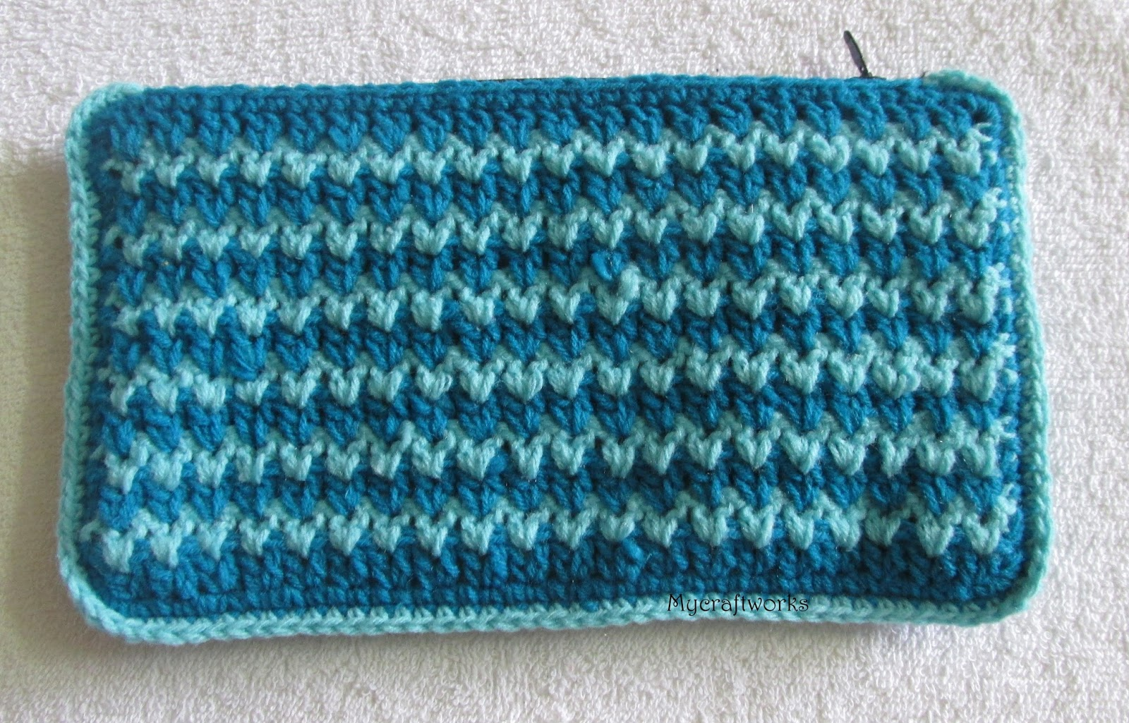 My Craft Works Crochet Samples To Pouches