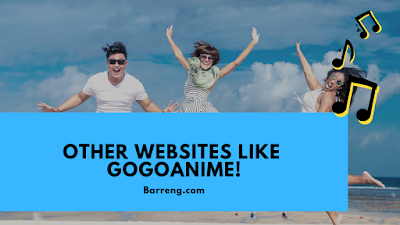 Other websites like gogoanime!