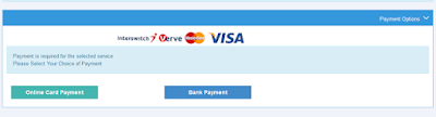 Quickteller payment page