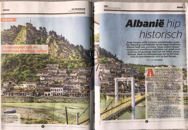 Tirana, the most modern city of the Balkans, according to De Telegraaf