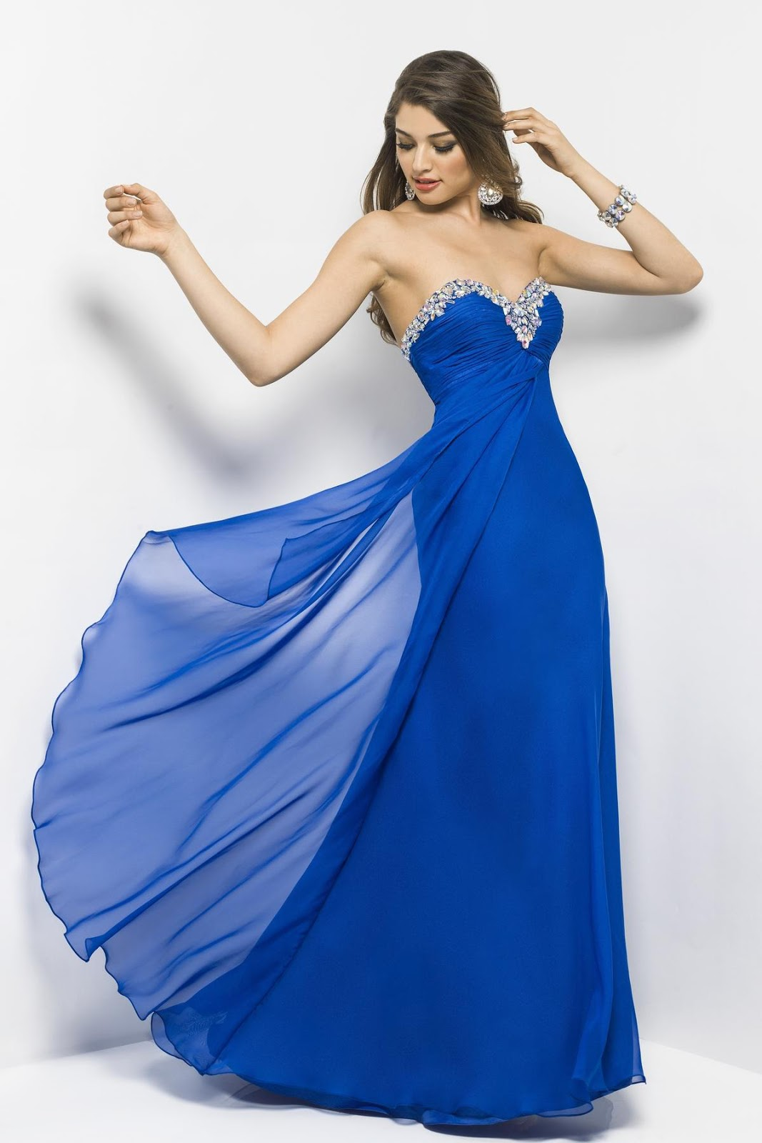 DressyBridal: Popular Blue Prom Dresses for 2013 Prom