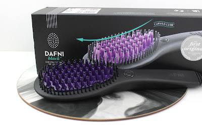 DAFNI Black Hair Straightening Brush review