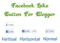 Thêm nút Like Facebook cho bài viết của Blogger