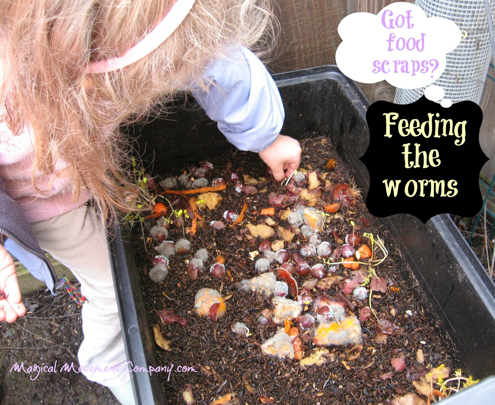 Outdoor Classroom Winter Fun With Garden Worms Magical