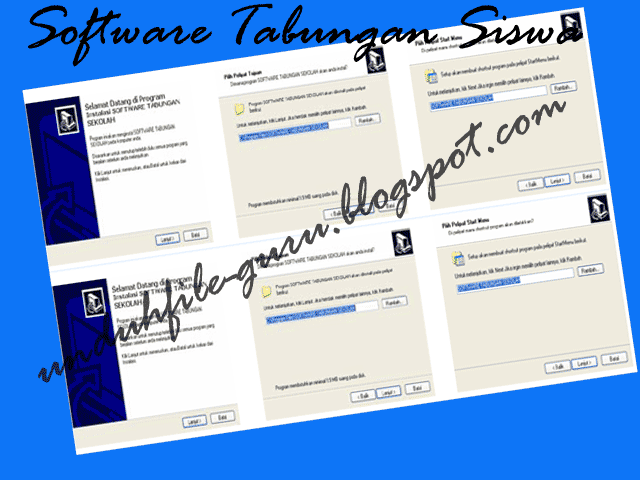 Software Tabungan Siswa Sekolah SD/MI, SMP/MTs, SMA/MA New  Unduh File Guru
