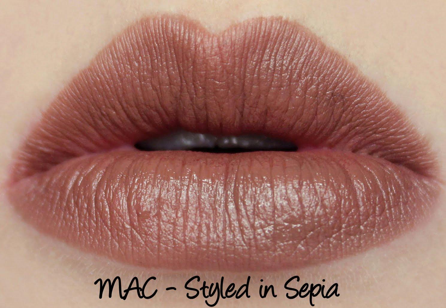 MAC Monday: The Matte Lip Lipsticks Swatches & Review ...