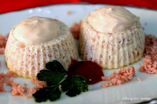 Flanes de jamón cocido. Julia y sus recetas
