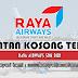 Jawatan Kosong di Raya Airways Sdn Bhd - 6 Julai 2020