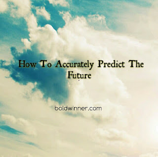how to accurately predict the future