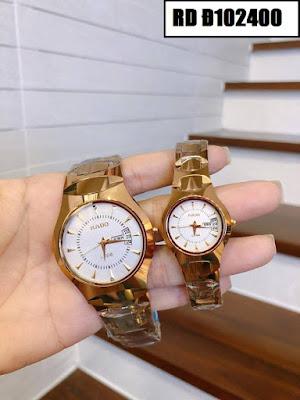 Đồng hồ cặp đôi đẹp nhất RD Đ102400