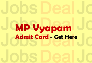 MP Vyapam Samvida Shikshak Admit Card 2017