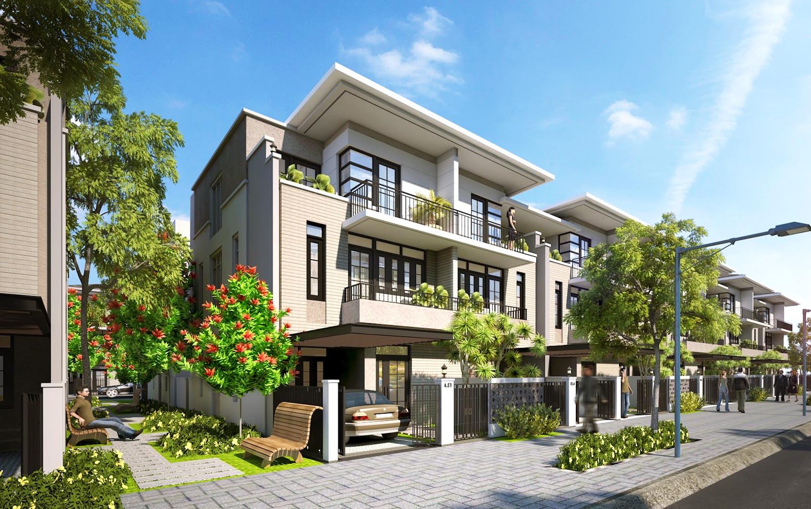 Nhà liền kề khu đô thị Kim Long Thuận Phước