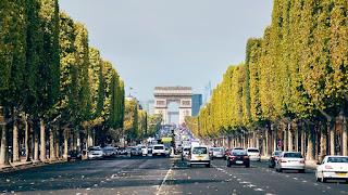 Campos Elíseos, París, Francia