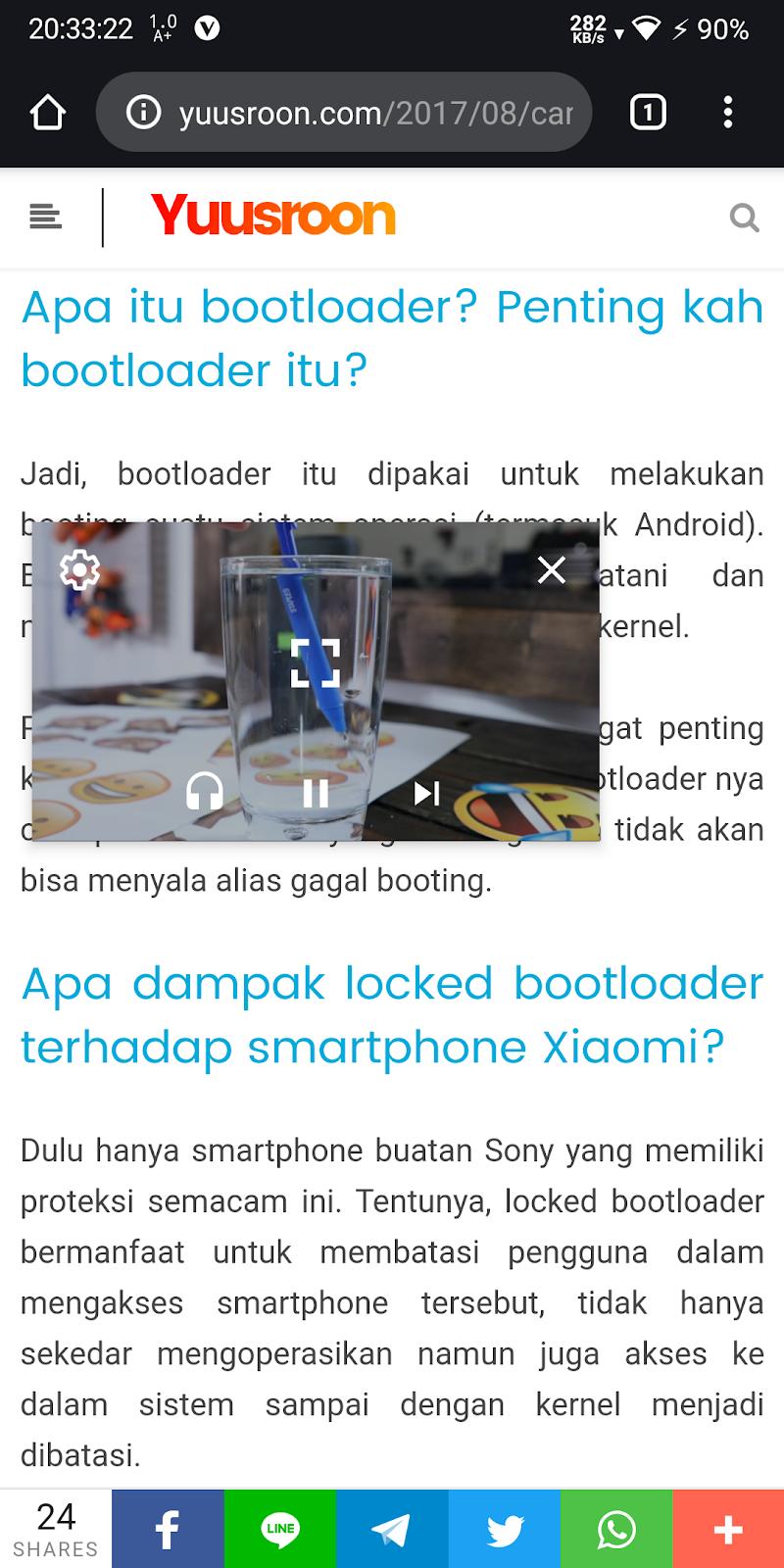 Cara Melihat Youtube Tanpa Iklan Di Android Terbaru Yuusroon