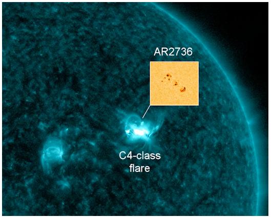 Watcher's Lamp: SOLAR STORM WARNING!