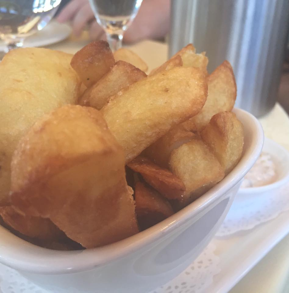 Crab and Lobster Restaurant, Thirsk - Homemade chips