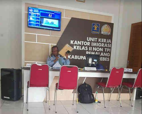 Alamat Telepon Kantor Imigrasi Brebes - Jawa Tengah