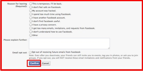 how to delete all photos on facebook page