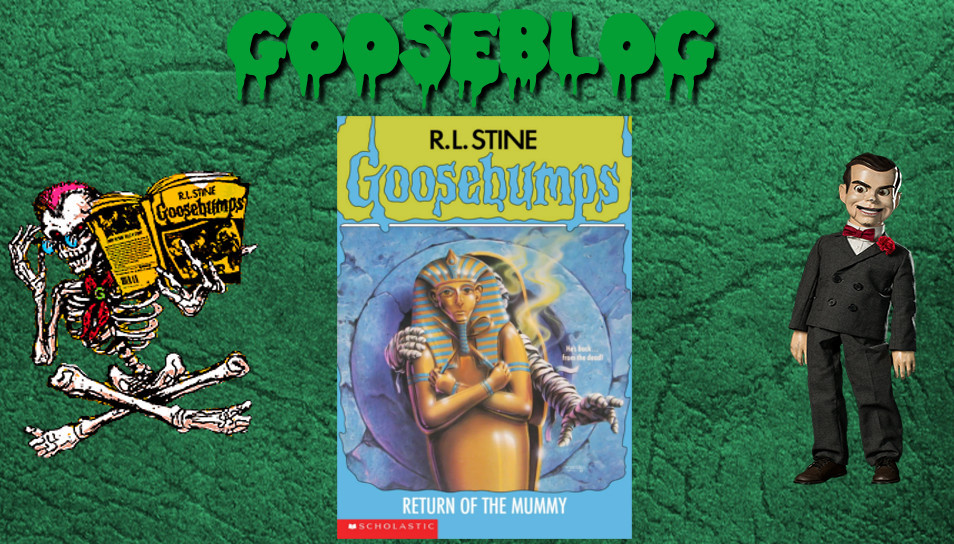 Retro Oasis Gooseblog Goosebumps 23 Return Of The Mummy
