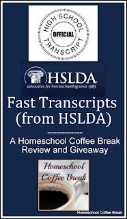 Fast Transcripts - A Homeschool Coffee Break #review  at kympossibleblog.blogspot.com