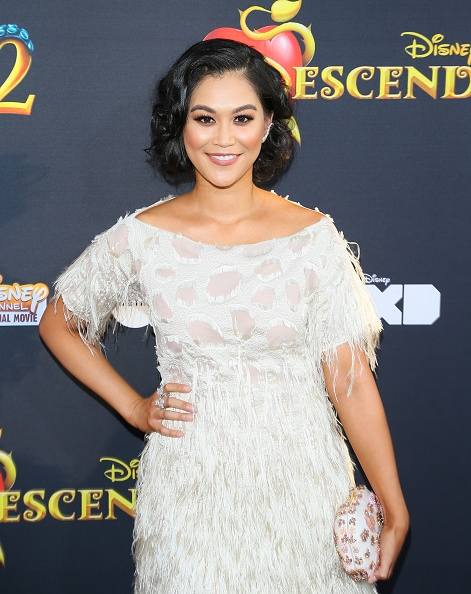 Dianne Doan Descendants 2 Red Carpet