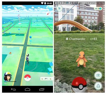Game Pokemon GO v0.35.0 Apk New Version