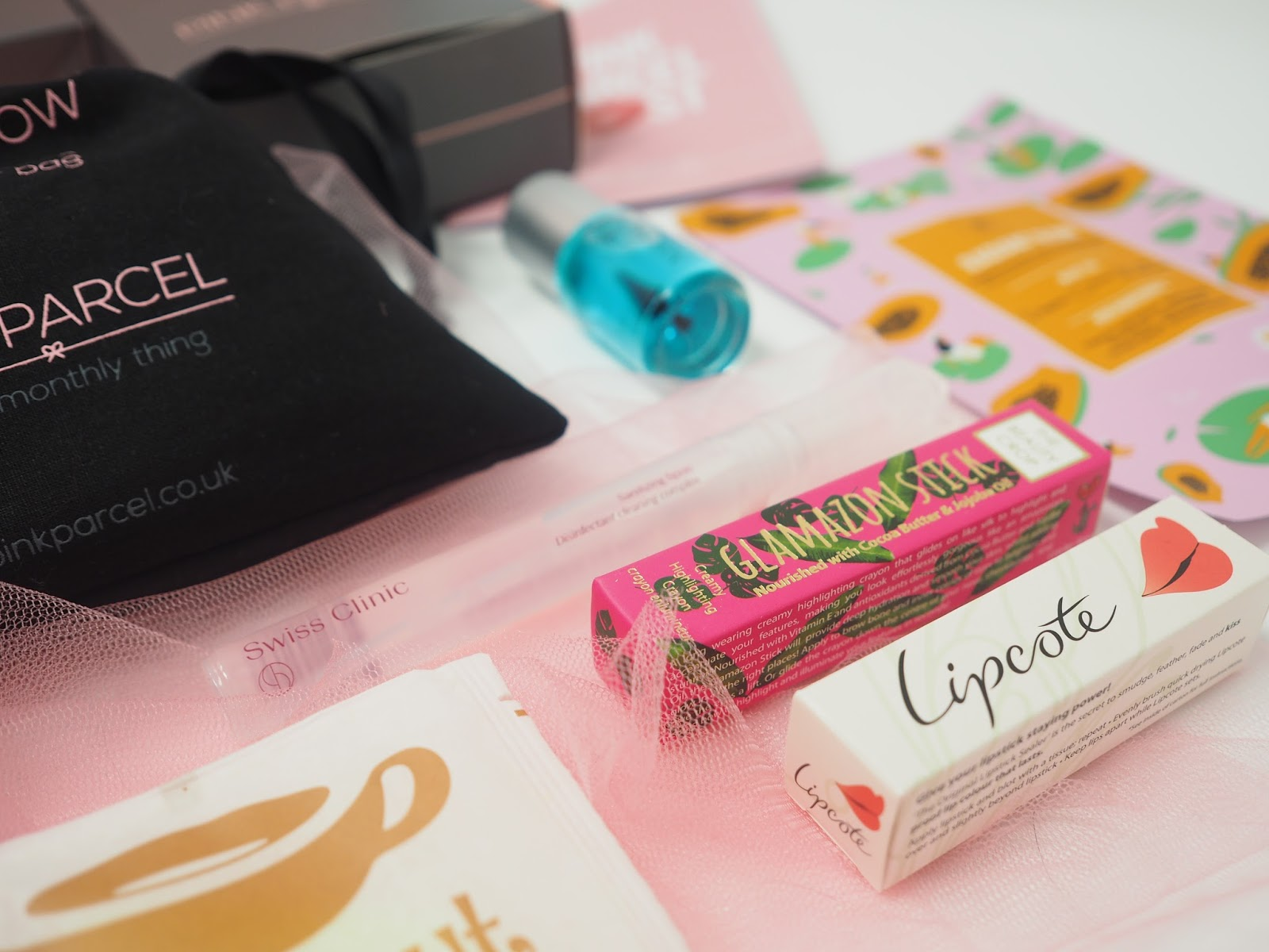 Pink Parcel Period Subscription Box Blog Review