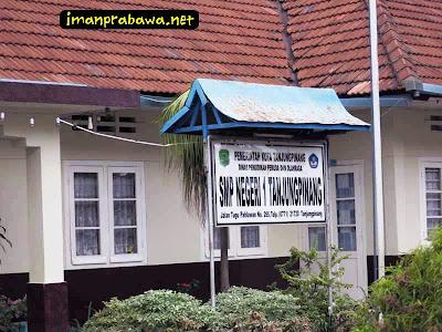 Papan SMP Negeri 1 Tanjung Pinang