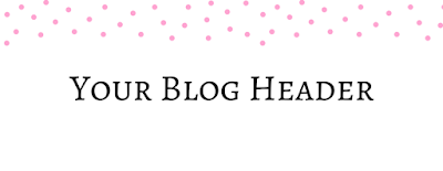 Blog Header Dots Pink FREE