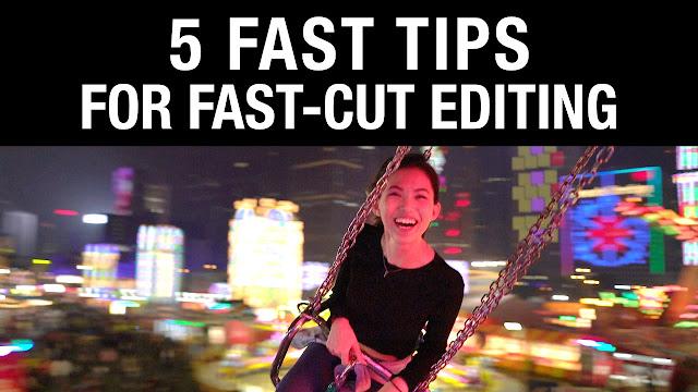5 Fast Tips for Fast-Cut Editing by Brandon Li