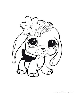 free littlest pet shop coloring pages | Quirky Artist Loft: Littlest Pet Shop - Free Printable ...