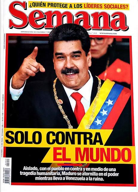 Nicolás Maduro: Solo contra el mundo