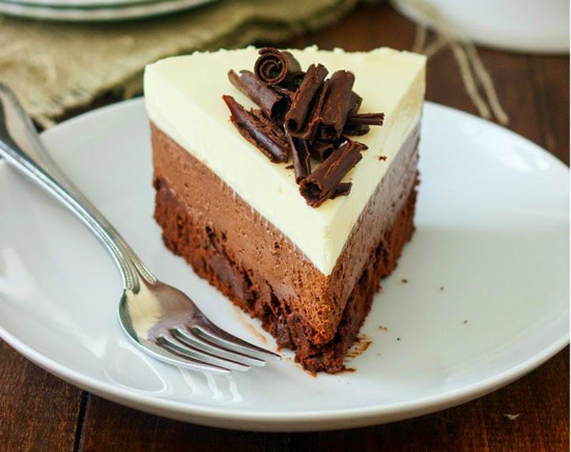 Chef fabius dolci e ricette cheesecake al triplo cioccolato for Dolci e ricette