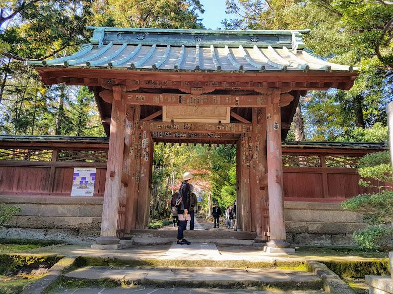 鐮倉五山第三位的壽福寺入口 (Jufuku-ji)