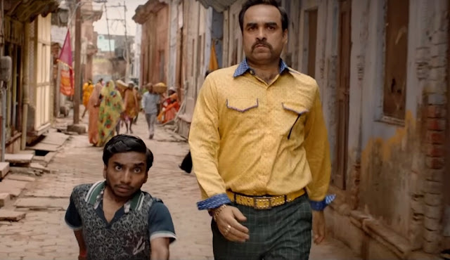 Pankaj Tripathi as Babulal in Luka Chuppi