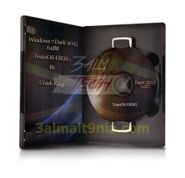 Windows 7 Dark 2015 X64bit - عالم التقنيه