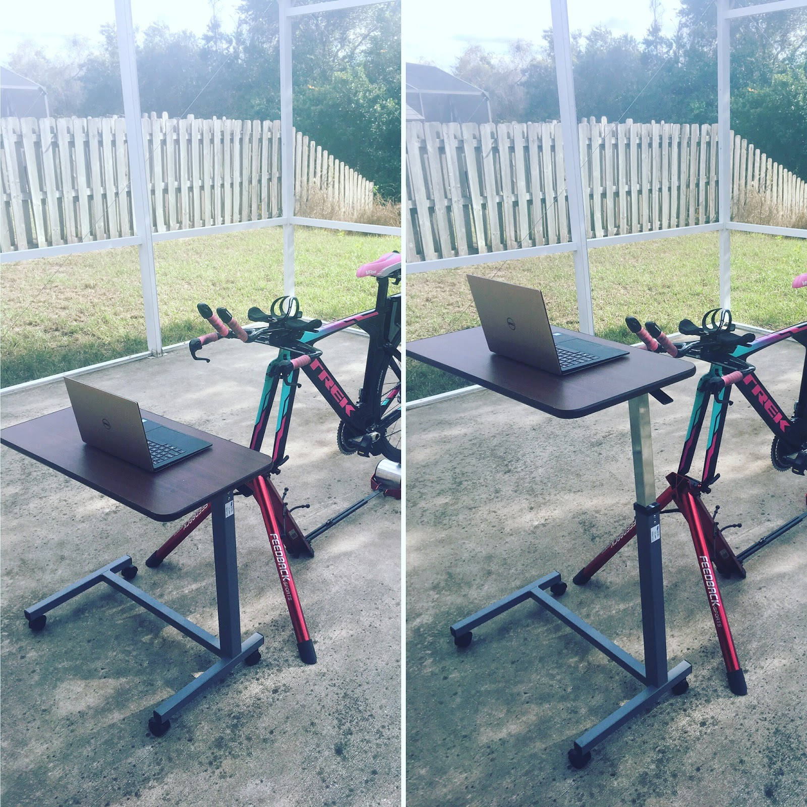 Triathlon Tips Best Cheap Bike Trainer Desk Wahoo Kickr