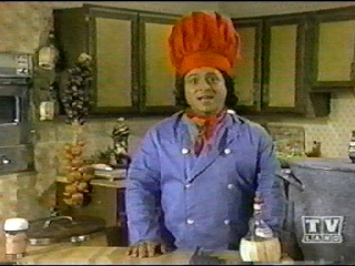 Tony Rosato as Marcello the Chef. (954-2017). Image courtesy of http://www.polarblairsden.com/tvsctvrosato.html