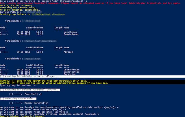 WinPwn - Automation For Internal Windows Penetrationtest