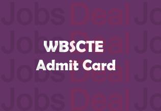 WBSCTE JEXPO Admit Card 2017