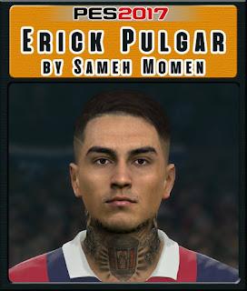 PES 2017 Faces Erick Pulgar by Sameh Momen