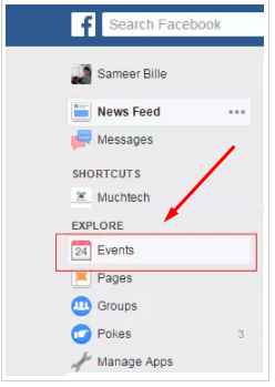 Creating An Event On Facebook