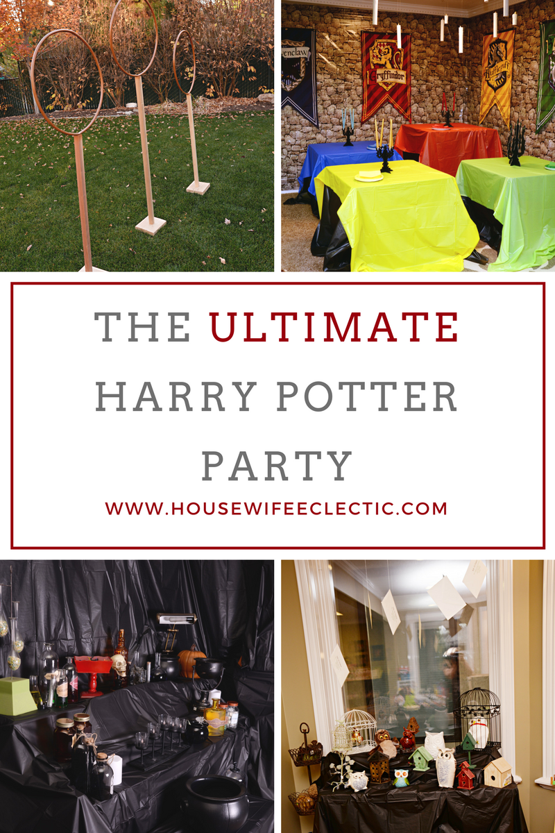 The ULTIMATE Harry Potter Party - Housewife Eclectic