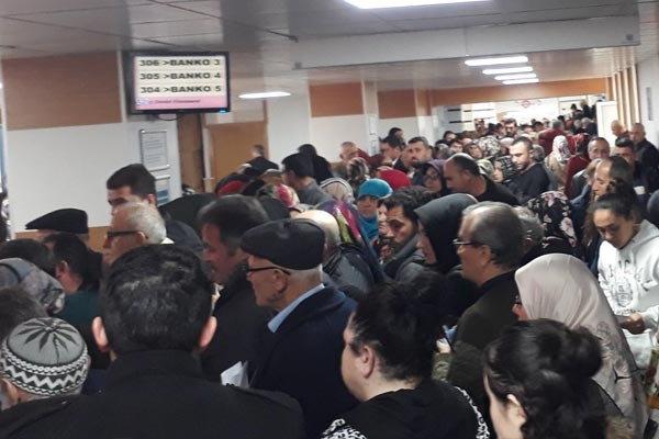 İYİ Parti Samsun Milletvekili Bedri Yaşar ise daha önce hastanelerde yer olmadığını belirtmişti.