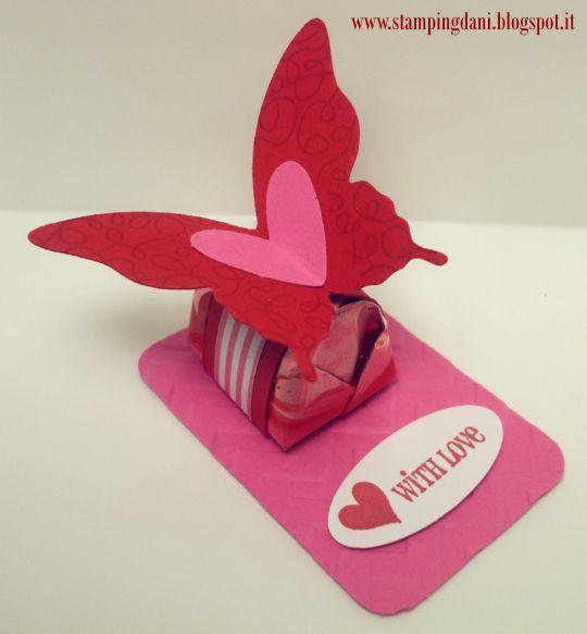 Envoltura chocolate: Mariposa
