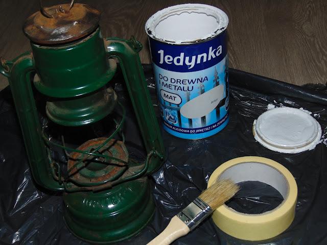 renowacja lampy naftowej